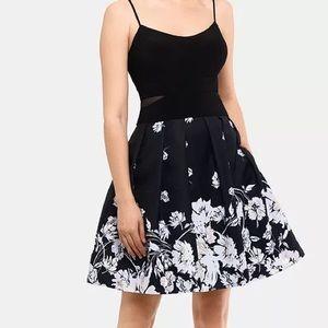 XScape Floral Party Dress